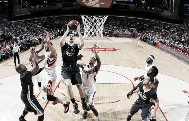 La furia dei Warriors ferma i Rockets