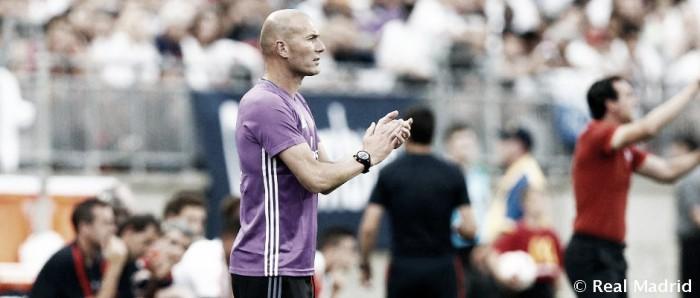 """Zidane ameniza derrota na Champions Cup: """"Estamos na pré-temporada e vamos pegar ritmo"""""""