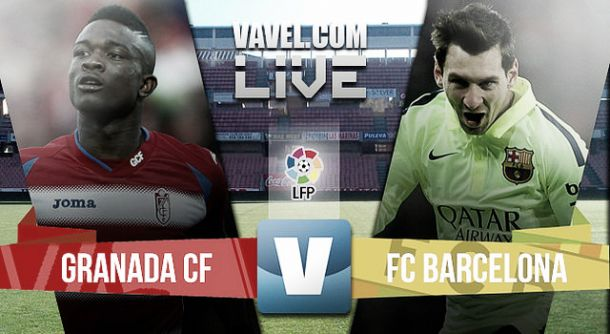 Granada vs Barcelona en vivo online (0-1)