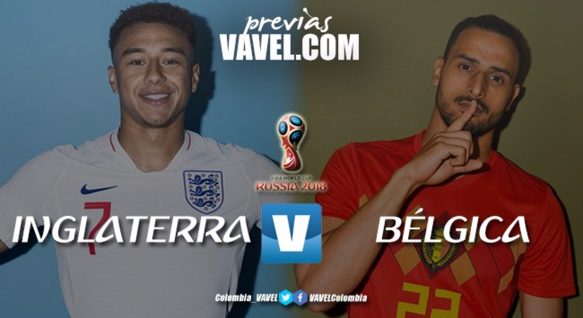 Previa Bélgica Vs Inglaterra: disputa por el primer puesto del grupo G