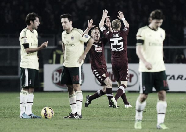 Risultato finale Torino - Milan (1-1): Succede tutto nelle ripresa, Baselli risponde a Bacca