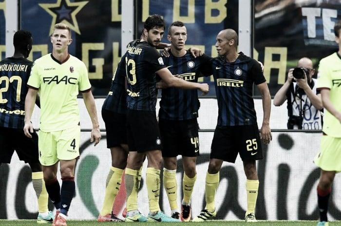 L'Inter impatta sul Bologna di Destro: 1-1 a San Siro
