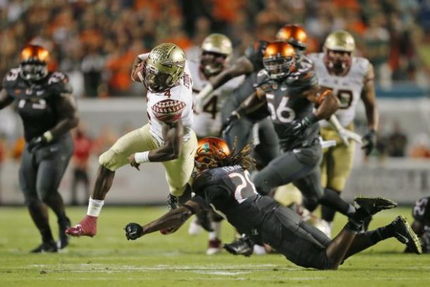 #3 Florida State Surges Late, Comes From Behind to Defeat Miami (FL)
