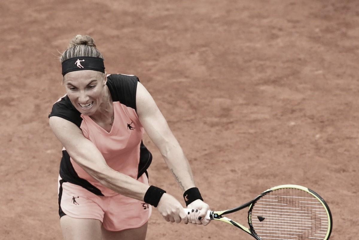 Kuznetsova volta às quadras com vitória de virada contra Alexandrova no WTA de Lugano
