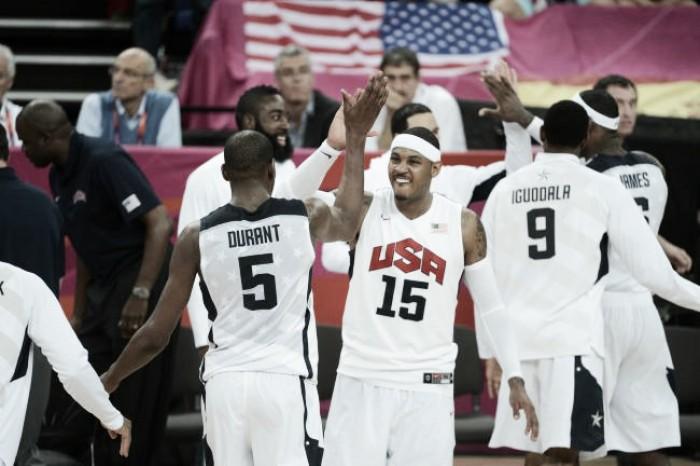 Estados Unidos divulgam lista dos 12 convocados para disputa da Olimpíada no Rio