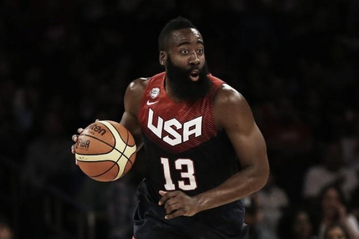 """Após decidir não jogar Olimpíada no Rio, Harden declara: """"Espero representar os EUA novamente"""""""