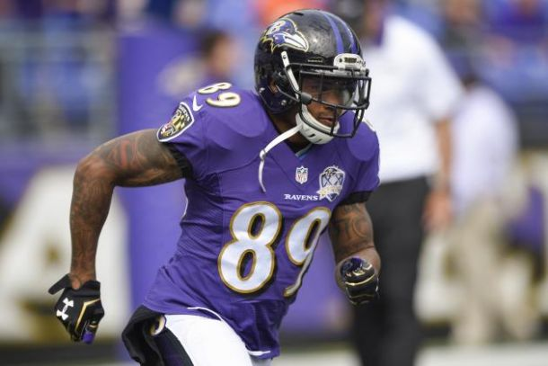 Baltimore Ravens WR Steve Smith Out For Season With Torn Achilles