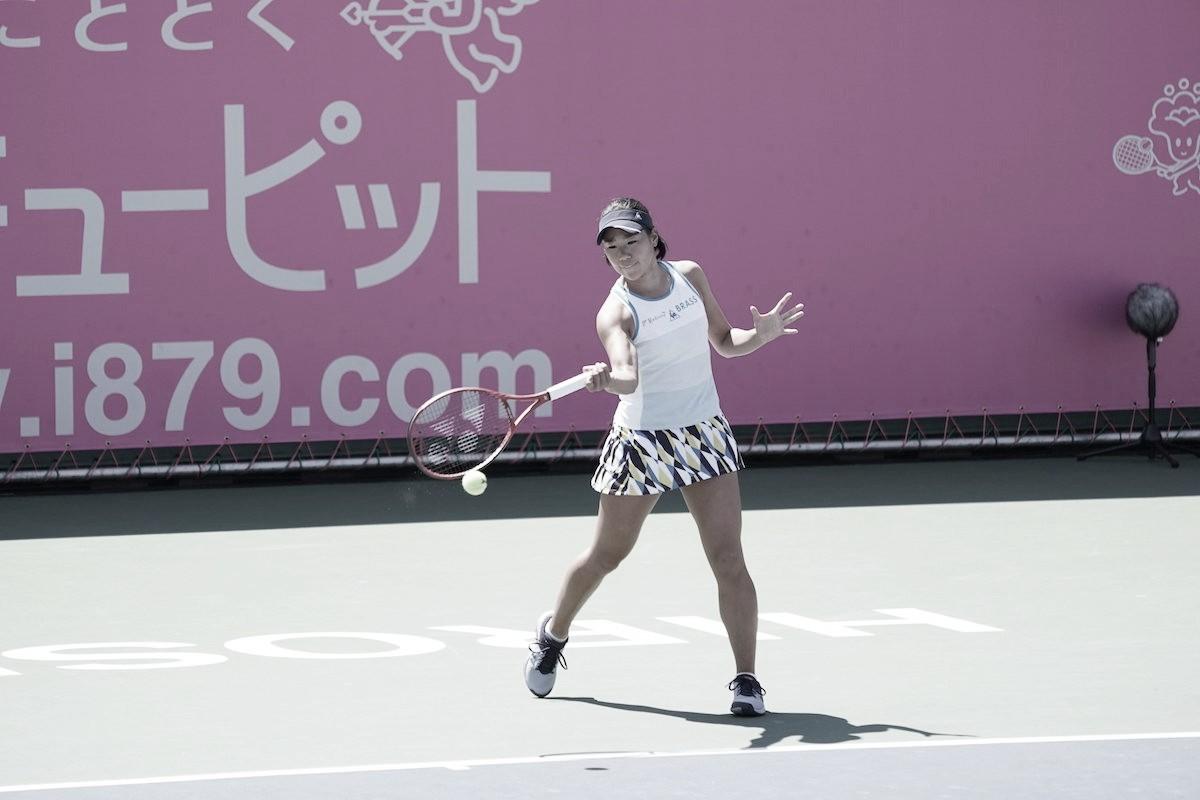 Hibino vence Doi e é campeã do WTA de Hiroshima