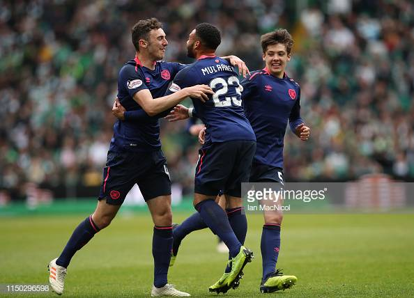 SPFL round-up: Hickey wins it for Hearts as Celtic and Rangers march on