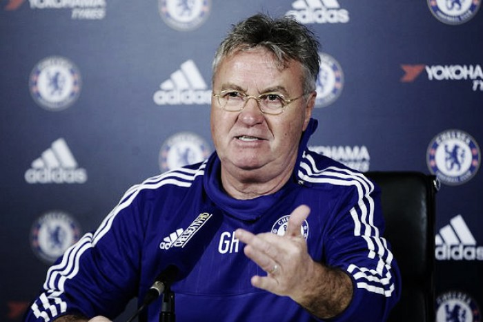 "Guus Hiddink concedes Chelsea's ""impossible"" top-four ambitions ahead of Hammers clash"