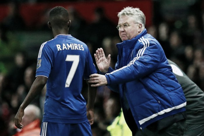 Ramires reveals Hiddink dispute as reason for Chelsea departure