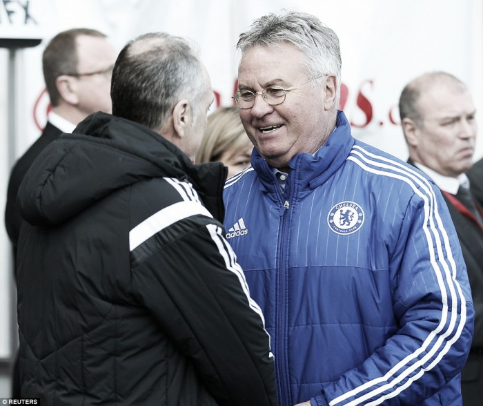 Swansea defeat will do us good, says Hiddink