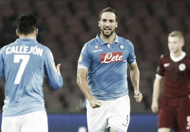 Napoli 3-1 Sparta Prague: Benitez's men squeeze past spirited Sparta Prague