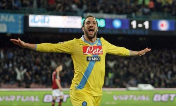 Diretta Napoli - Milan in Serie A