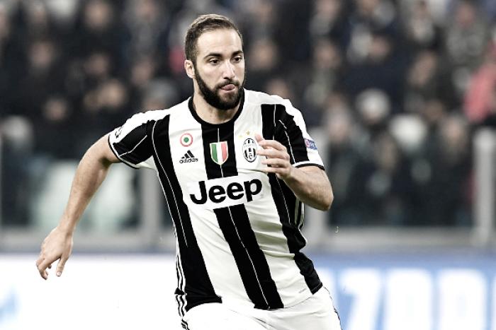 Juventus confirma lesão e Higuaín não enfrenta Sevilla pela Champions League