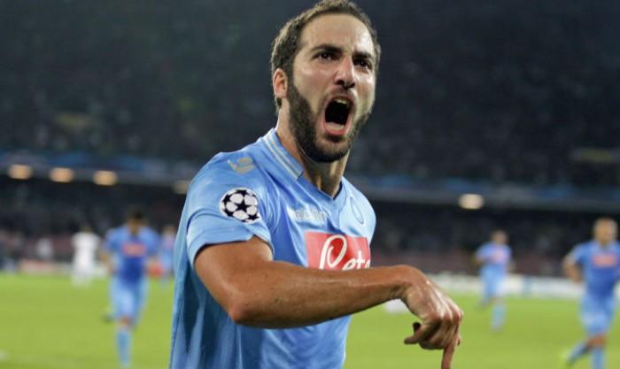 """Napoli, Higuain: """"E' il miglior anno della mia carriera. Sarri? Mi ha colpito la sincerità"""""""