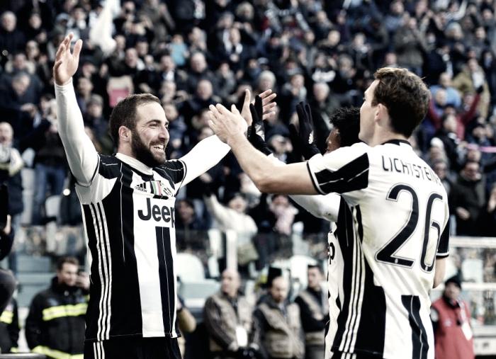 La Juve d'attacco va: Dybala e Higuain stendono la Lazio (2-0)