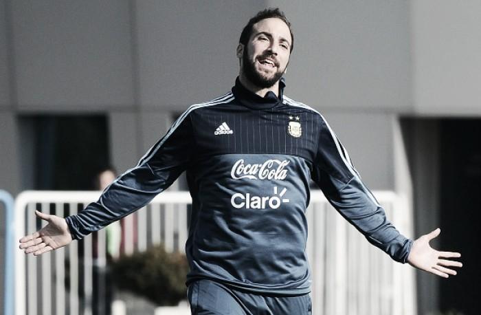 Especulado no Liverpool, Higuaín afirma que só falará sobre seu futuro depois da Copa América