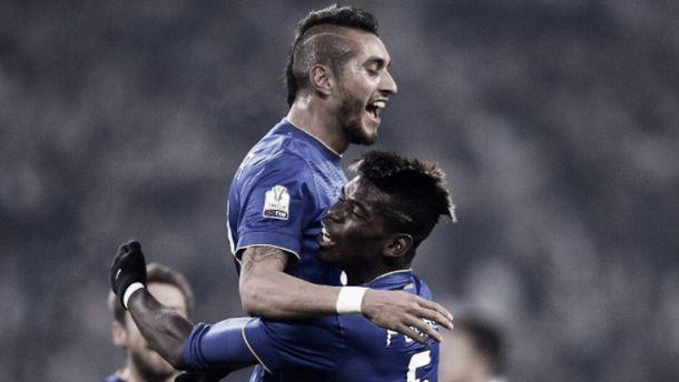 La Juventus arrasó sin Tévez, pero tuvo al Tucu Pereyra