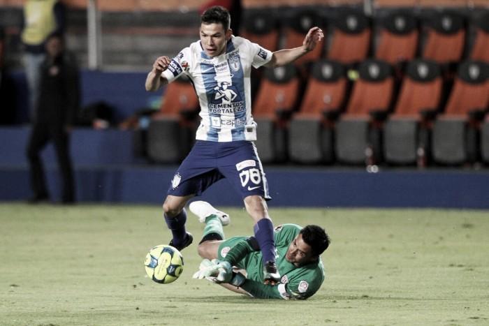 Pachuca y Toluca reparten puntos tras frío empate en el Hidalgo