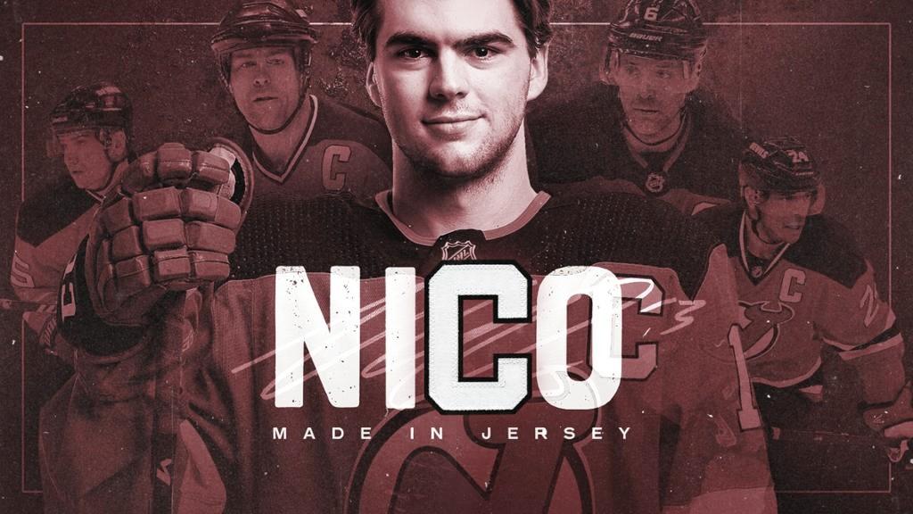 New Jersey presenta a NicoHischiercomo su nuevo capitán