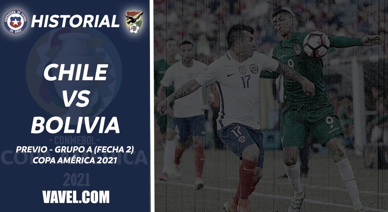 Copa América, fecha 2: Bolivia vs Chile, capítulo