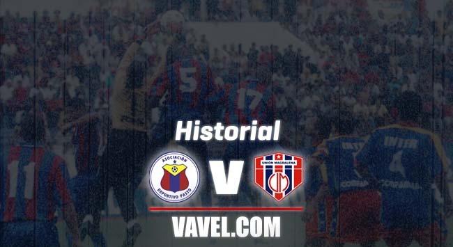 Deportivo Pasto vs Unión Magdalena: historial de enfrentamientos