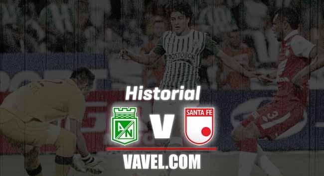 Historial Atlético Nacional vs. Independiente Santa Fe: en los Ida y Vuelta, los 'verdolagas' dominan