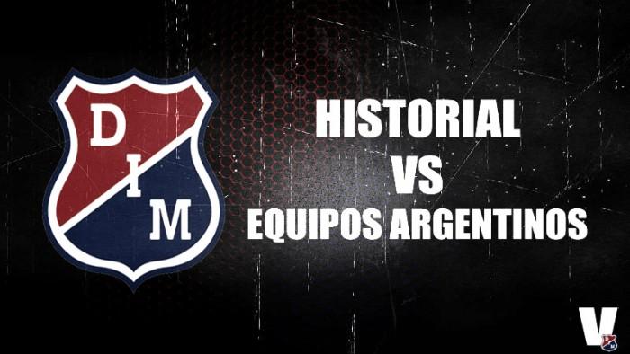 Historial: Independiente Medellín ante equipos argentinos