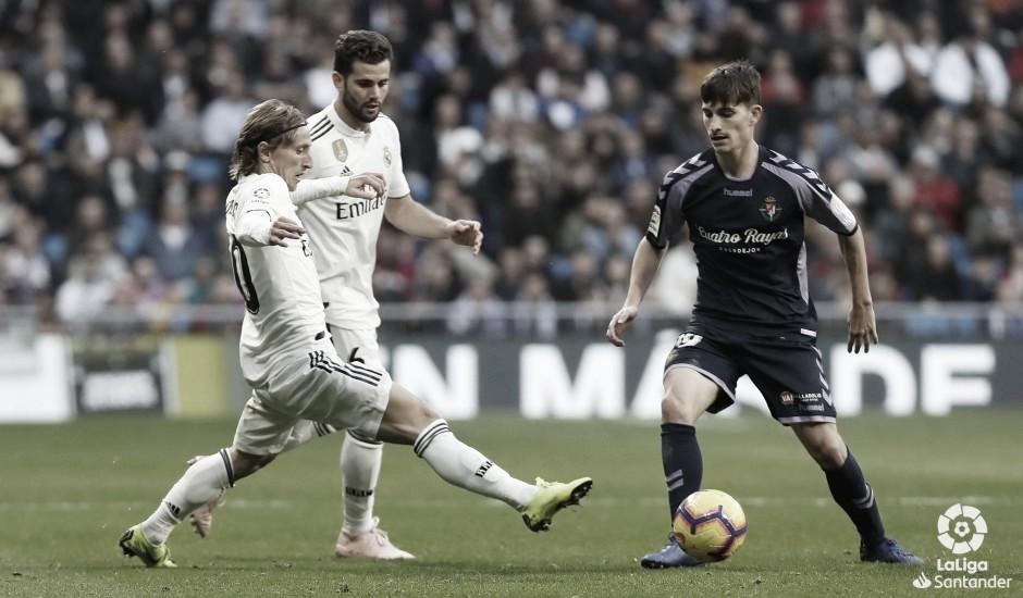 La formación, una de las claves del Real Madrid - Real Valladolid