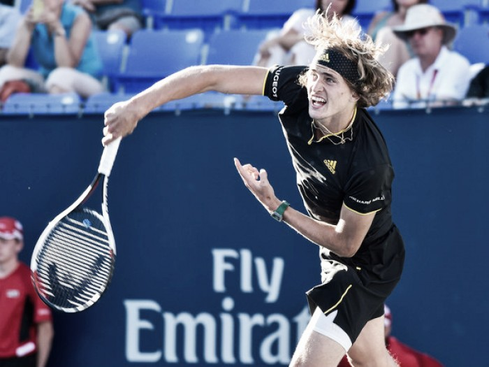 ATP Rogers Cup: Alexander Zverev ousts Nick Kyrgios to advance to last eight