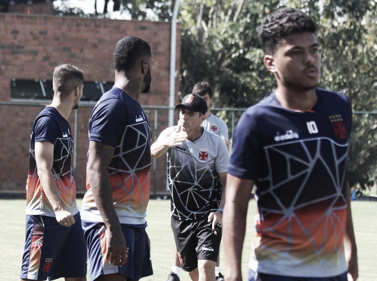 Vasco vence dois jogos-treino e fecha preparação em Pinheiral