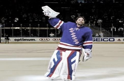 "New York Rangers retirarán el número de ""King"" Lundqvist"