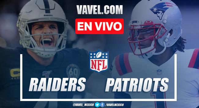 Las Vegas Raiders vs New England Patriots EN VIVO transmisión online AHORA Semana 3 NFL (0-0)