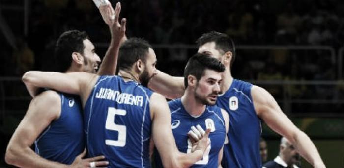 Brasil perde de virada para Itália no vôlei masculino e se complica nos Jogos Olímpicos