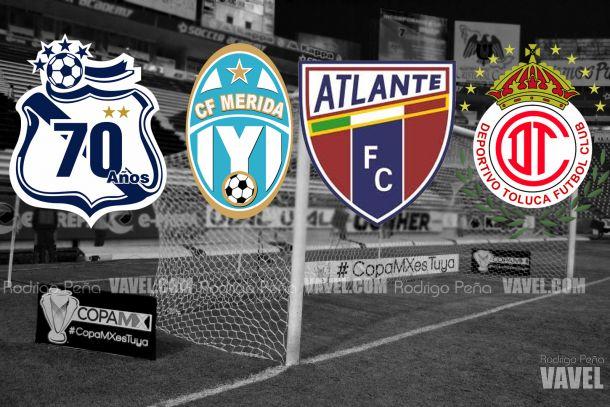 Puebla estará ubicado en el sector 5 de la Copa MX