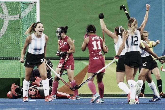 Río 2016: goleada frente a Japón
