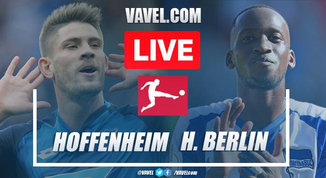 TSG Hoffenheim vs Hertha Berlin: Live Stream, TV Updates, and How to Watch Bundesliga 2020 (0-3)