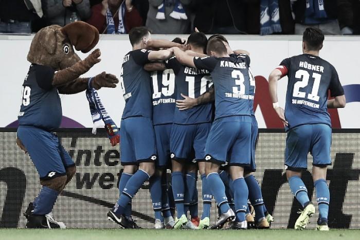 Uth faz dois, Hoffenheim tem grande atuação defensiva e derrota Bayern