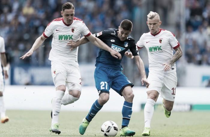 Bundesliga - Rimpianti Hoffenheim, 0-0 con l'Augsburg e quarto posto in campionato
