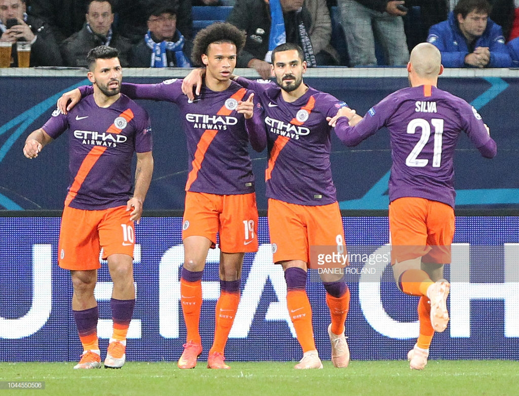 Manchester City 2-1 TSG Hoffenheim as it happened: Sane double ensures City top Group F
