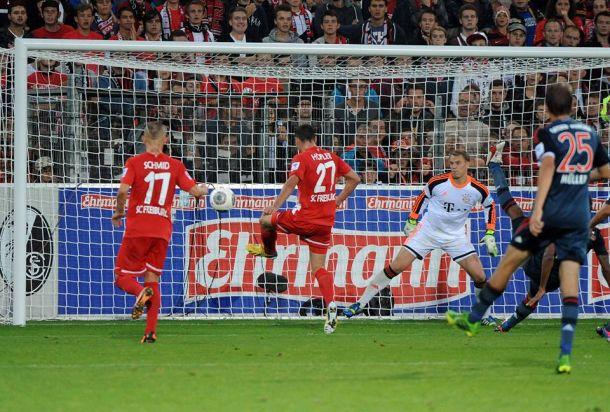 Le Bayern accroché par Fribourg