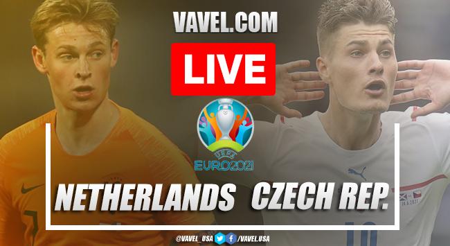 Goals and Highlights: Netherlands 0-2 Czech Republic in Euro 2020