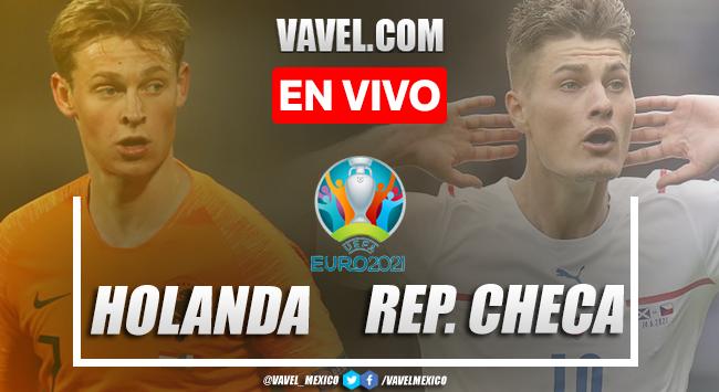 Goles y resumen del Holanda 0-2 República Checa en Euro 2020