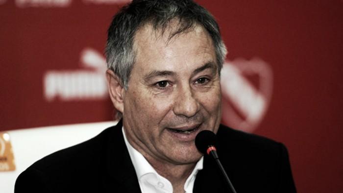 Holan, la cara del nuevo Independiente