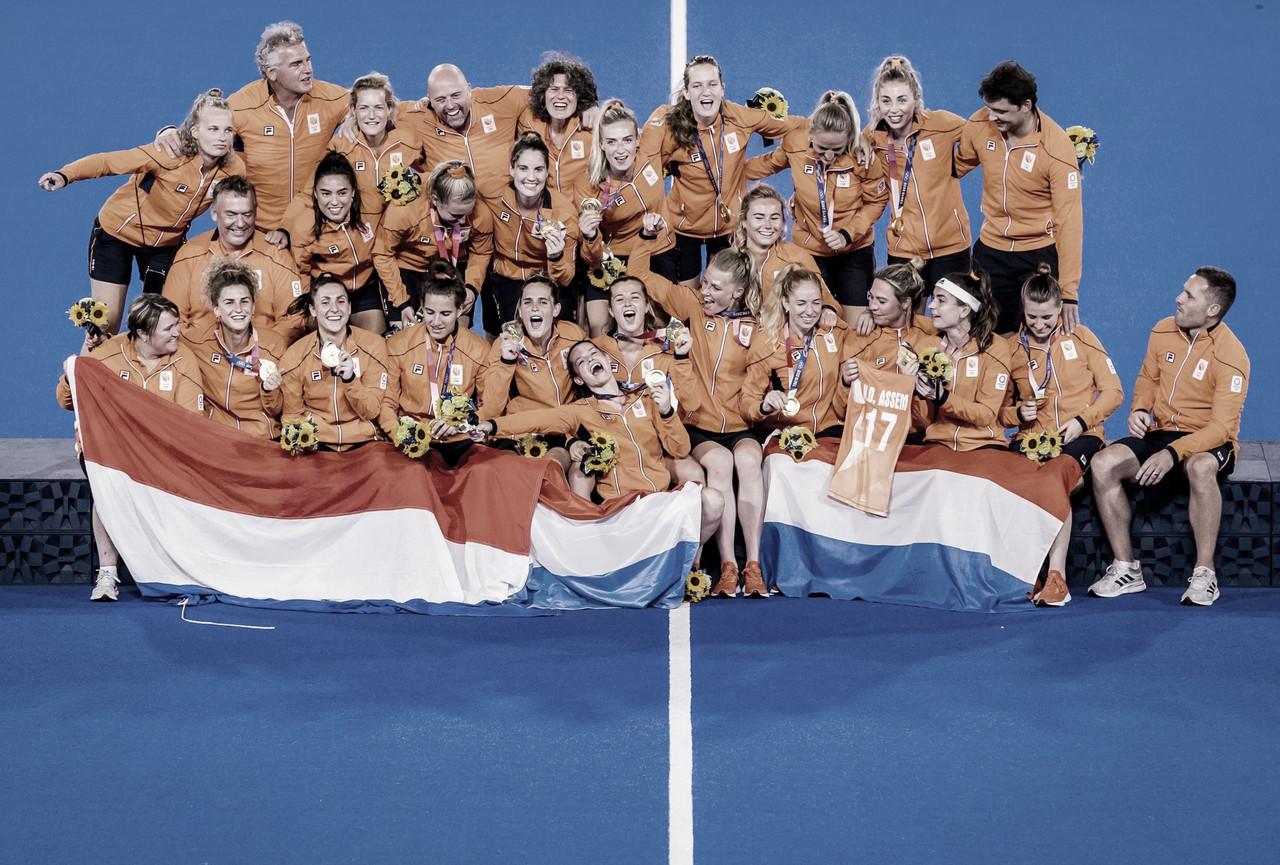 Hockey: Países Bajos recupera el Oro