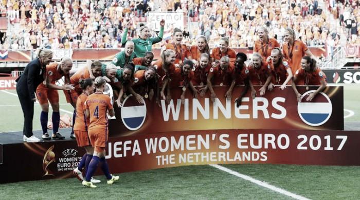 Euro 2017: Holanda vence a Dinamarca e conquista o torneio pela primeira vez na história