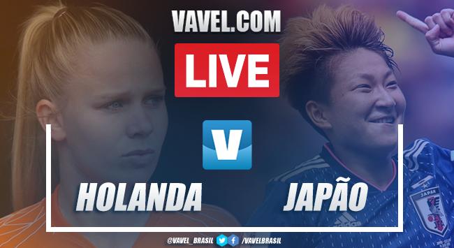 Resultado Holanda 2 x 1 Japão na Copa do Mundo Feminina 2019