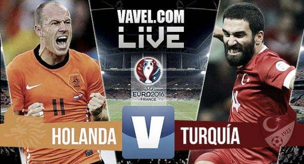 Resultado Holanda - Turquía (1-1)
