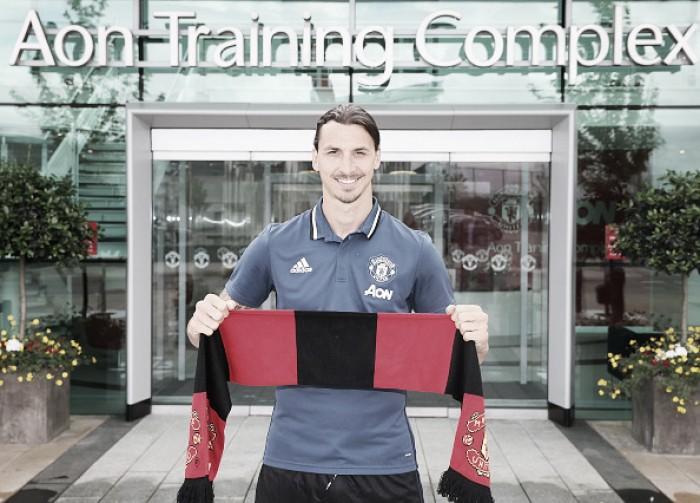 "Zlatan Ibrahimovic insists he ""always"" stays in shape"